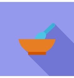 Baby food vector image