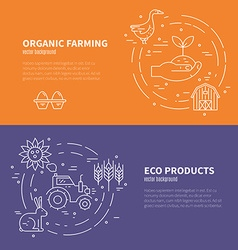 Eco products concept vector