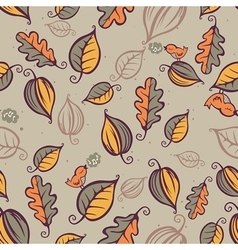 Forest pattern seamless vector