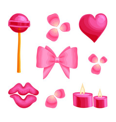 Valentine s day romantic dating sweet vector