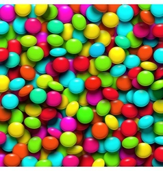 Background with candy vector image