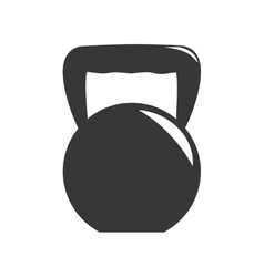 Weight icon healthy lifestyle design vector