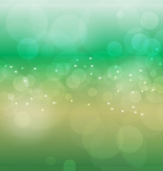 Abstract green nature bokeh background background vector