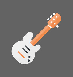 Bass guitar icon music instrument concept vector