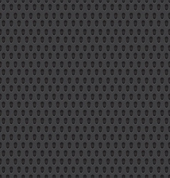 Perforated Material Seamless Background vector image