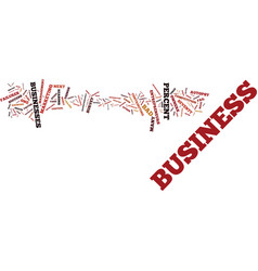 The business autopsy a fact of life text vector