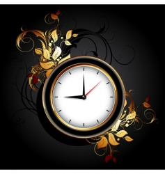 web icon clocks vector image vector image