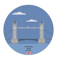 Tower bridge london vector