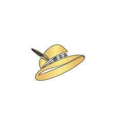 Cap computer symbol vector