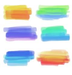 Color spots vector image vector image