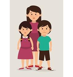 Family unity design vector