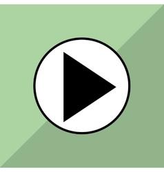 Film and movie icon design vector