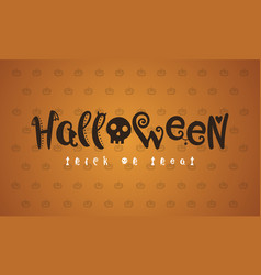 Halloween background style collection vector