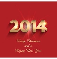 happy new year design 0811 vector image