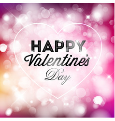 Happy valentines card vector