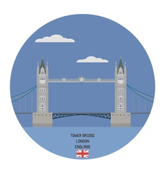 Tower bridge london vector