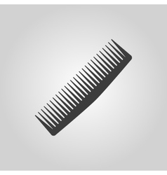 The comb icon barbershop symbol flat vector