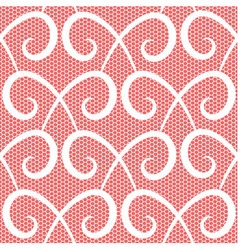 Abstract repeating swirls seamless pattern vector
