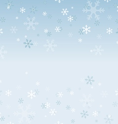 Snowflakes abstract background vector