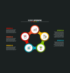 Creative concept for infographic vector