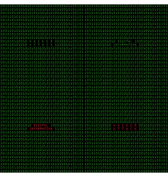 Hacker attack vector image vector image