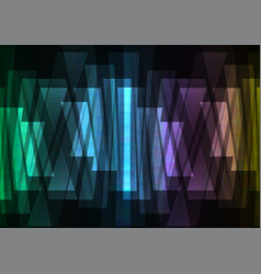 rainbow multicolor bar reverse abstract background vector image vector image
