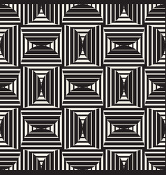 Seamless rounded lines pattern abstract vector