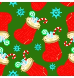 socks pattern vector image vector image