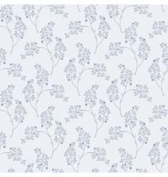 olive leaf pattern vector image