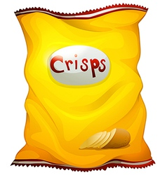 A pack of crisps vector