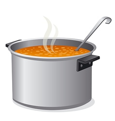 soup vector image