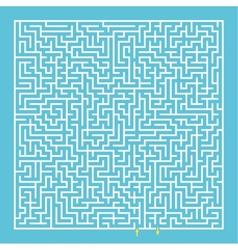Maze labyrinth vector
