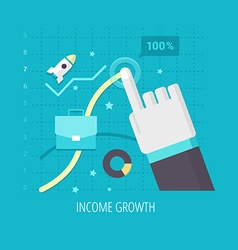 Income growth vector