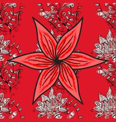 ethnic mandala ornament henna tattoo style indian vector image