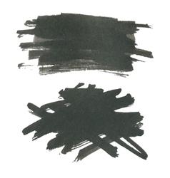 Ink splash for design vector
