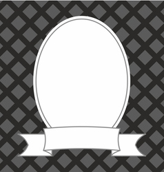 Photo frame on black and grey background vector