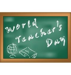 World teachers day vector