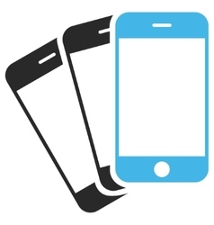 Mobile phones eps icon vector