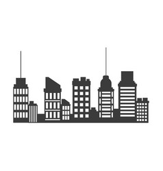 Buildings skyscrapers business commercial or vector