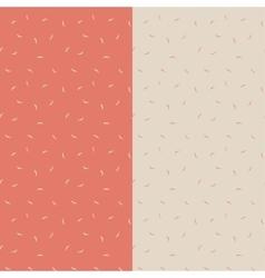 Petals seamless pattern vector image vector image