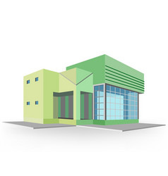 New house colors style vector