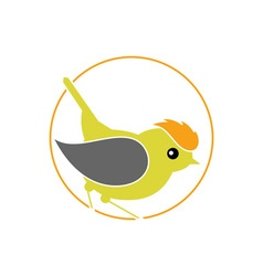 Firecrest-bird-380x400 vector