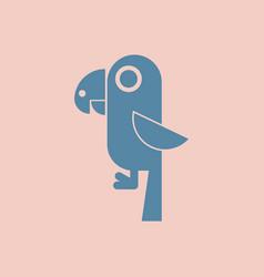 Baby parrot vector