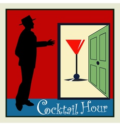 Cocktail Hour vector image vector image