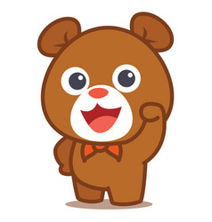 Cute bear vector