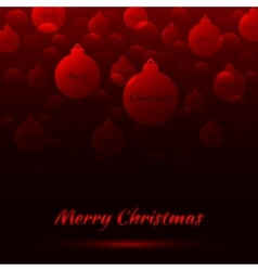 Merry Christmas Bakcground vector image