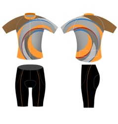Sportswear uniform vector