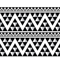 Tribal aztec abstract seamless pattern vector