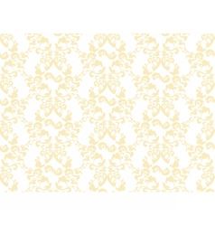 Damask abstract ornament pattern vector