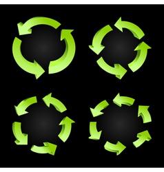 circulation6 vector image